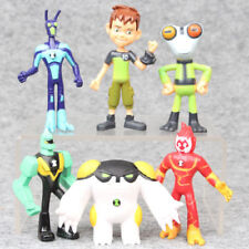 Lot of 6 pcs Ben 10 PVC Action Figure Play set Toy Cake Topper Xmas Gift 3.5''