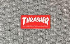 Thrasher Skateboard Magazine Sticker small 1.7in red si