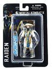 Mortal Kombat X Raiden 4 Inch Action Figure Eternal God of Thunder MEZCO