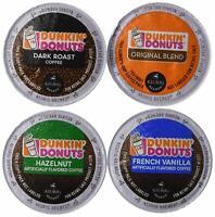 20 Count Dunkin Donuts Coffee Variety K Cups Keurig Original, Dark Vanilla Hazel