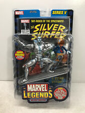 "Marvel Legends Silver Surfer 6"" Figure w/ Howard Duck Series V - ToyBiz 2003 FS"