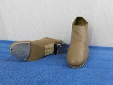 Women's Tap Shoes Size 8 Tan Slip On Leo's Ultratone #1635