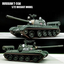 RUSSIAN T-55A 1/72 diecast Model tank main battle tank