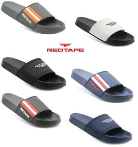 Mens RedTape Slip On Beach pool Shower Mule Flip Flops Eva Sliders sandals shoes