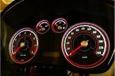 Ford Focus MK2 design 1 glow gauges dials plasma dials kit tacho glow dash shift