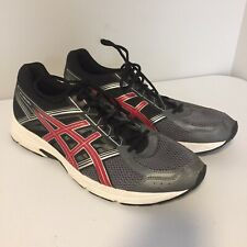 Size 15 Asics Gel Contend 4s - Grey, Red, Black - Great Condition