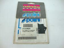 SET LAMELLE CARBONIO 213.0524 POLINI PACCO LAMELLARE PIAGGIO 213.0040 213.0046
