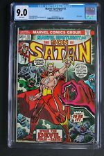 MARVEL SPOTLIGHT #13 ORIGIN 1st Color SATANA 1974 Son of Satan HULU TV CGC 9.0