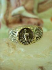 Ring Talisman LP Derm Wat Nhongpho Magic Power Buddhist Buddha Thai Amulet