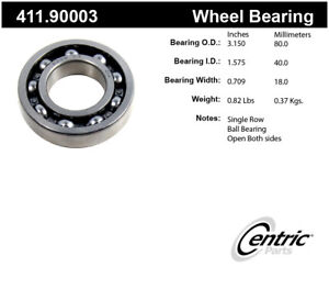 Axle Shaft Bearing Assembly-Premium Centric 411.90003