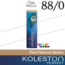 "Wella Koleston Perfect Permanent Hair Color Dye 60g Pure Naturals "" 88/0 """