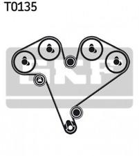 Zahnriemensatz für Riementrieb SKF VKMA 05502