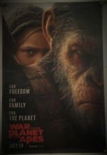 WAR FOR THE PLANET OF THE APES DS ROLLED ADV ORIG 1SH MOVIE POSTER SERKIS (2017)
