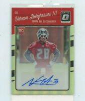 VERNON HARGREAVES 2016 Panini Donruss Optic Signatures Holo Rookie Auto #D /99