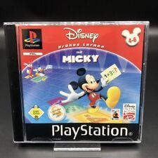 PS1 Disneys Frühes Lernen mit Micky (Komplett) (Gut) Sony PlayStation 1