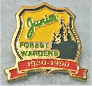 JUNIOR FOREST WARDENS 60th Canadian Forestry Assoc. Pin