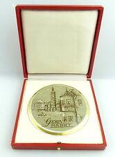 Porzellan Medaille Ehrengeschenk: Gera Markt Thüringen e1577