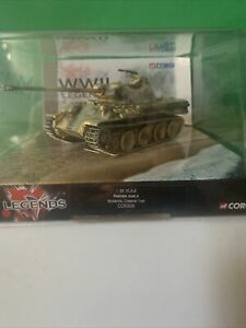 CORGI CC60206 1/50 PANTHER AUSF.A REGIMENTAL COMMAND TANK D-DAY 1.50 New