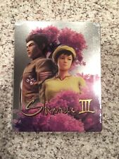 Shenmue 3 SteelBook case for PlayStation 4 - No PS4 Game Best Buy Exclusive Rare