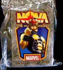 Bowen Nova Marvel Comics New Warriors Bust Statue New Factory Sealed .