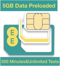 EE 4G Mobile Broadband PAYG Multi Sim, Preloaded 5GB Data for MiFi Dongles