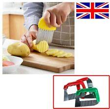 Vegetable Potato Chip Dough Crinkle Wavy Chipper Stainless Steel UK Stock New