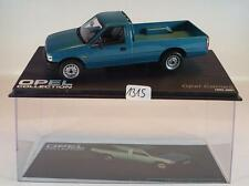 Opel Collection 1/43 Opel Campo türkismetallic 1993 - 2001 in Plexi Box #1315