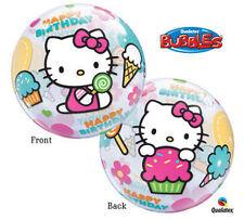 HELLO KITTY Bubbles Stretchy Happy Birthday Party Balloon Decoration