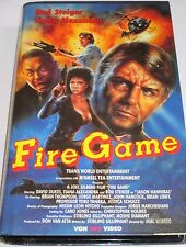 Fire Game - VHS/Action/Rod Steiger/Brian Thompson/VPS 4479/Hartbox