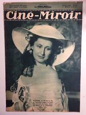CINE MIROIR N°631 7 MAI 1937 COUV RAYMONDE ALLAIN