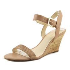 Zapatos de tacón de mujer plataformas Nine West color principal crema