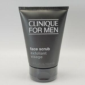 Clinique For Men Face Scrub Exfoliant Visage 3.4oz/100ml New Sealed