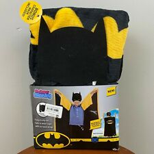 Super Blanky Batman Wearable Cape With Sleeves and Character Mask