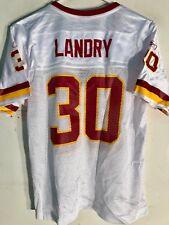 Reebok Women's NFL Jersey Washington Redskins Laron Landry White sz 2X