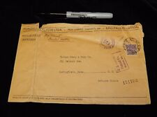 Vintage Cover,SAO PAULO,BRAZIL, Oversized Registered Air,Sent To Boston,MA,1938