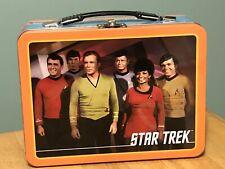 Vintage Star Trek Original Series Cast Tin Lunch Box  2009 Original Cast
