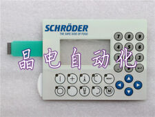 1X For 4PW035 E300-K09 SCHRODER THE SAFE SIDE OF FOOD Membrane Keypad