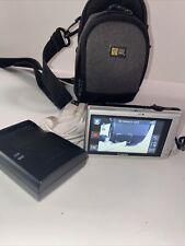 Canon PowerShot ELPH 320 HS 16.1MP Digital Camera - Black *tested* W/ Bag