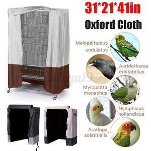 Pet Bird Cage Cover Parrot Cages Cloth Cover Cozy Bed Protection 78x54x104cm