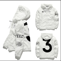 Limited Edition YEEZUS Windbreaker Yeezy sports sunscreen skin Windbreaker coat!