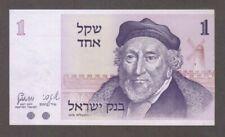 1978 1 One Shekel Israel Israeli Currency Unc Banknote Note Money Bank Bill Cash