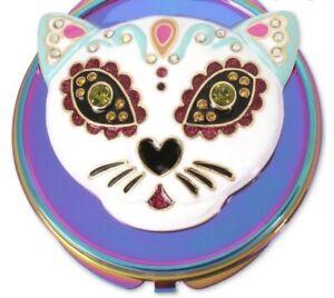 $35 Betsey Johnson cat compact mirror