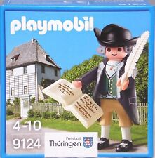 PLAYMOBIL Special 9124 Goethe Collector Rare Exclusive NEW IN BOX / NUEVO