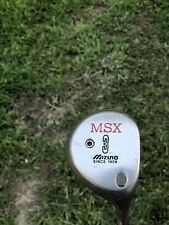 Mizuno MSX Fairway 3 Wood Exsar Gold Graphite  Shaft RH Golf Club