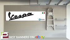 Vespa Scooter Workshop Garage Banner Piaggio, 150GS, 250 GTS Primavera