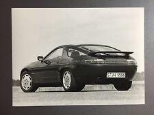"""1987 Porsche 928 S4 Coupe B&W Press Photo """"Werkfoto"""" RARE!! Awesome L@@K"""