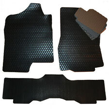 2002 - 2014 GMC Sierra  ALL WEATHER Floor Mats- Denali - Black Grey Tan Brown