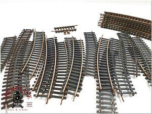 H0 1:87 Scale Ho Model Railway Way Voie PIKO Vintage Set 23x