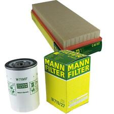 Mann-filter Set Oil Filter Air Filter Inspection Set MOL-9693376