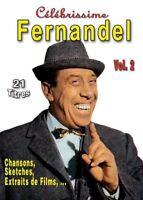 Fernandel Célébrissime Chansons, Sketches, Extraits de Films,... (dvd) NEUF
